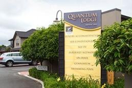 Location of our Hamilton motel